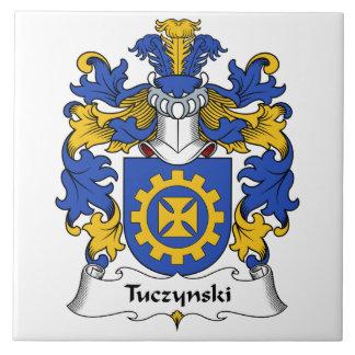 Escudo de la familia de Tuczynski Azulejos