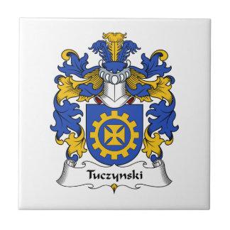 Escudo de la familia de Tuczynski Tejas Ceramicas
