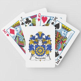 Escudo de la familia de Tuczynski Baraja Cartas De Poker