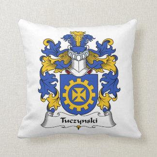 Escudo de la familia de Tuczynski Almohadas