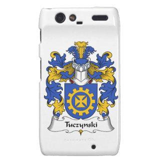 Escudo de la familia de Tuczynski Droid RAZR Carcasas