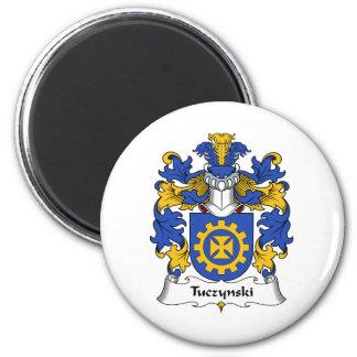Escudo de la familia de Tuczynski Iman De Nevera