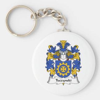 Escudo de la familia de Tuczynski Llavero