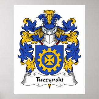 Escudo de la familia de Tuczynski Poster