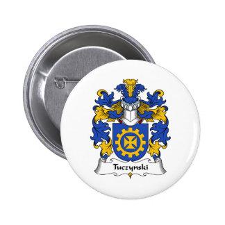 Escudo de la familia de Tuczynski Pins
