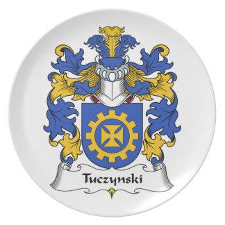Escudo de la familia de Tuczynski Plato