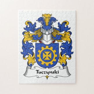 Escudo de la familia de Tuczynski Rompecabeza