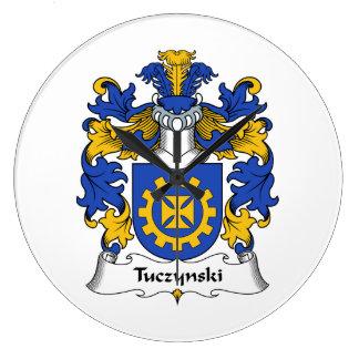 Escudo de la familia de Tuczynski Reloj
