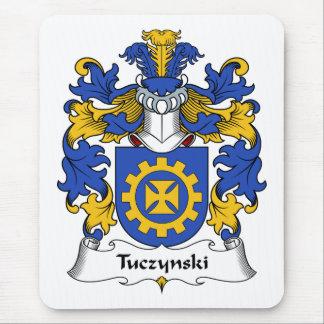 Escudo de la familia de Tuczynski Alfombrilla De Raton