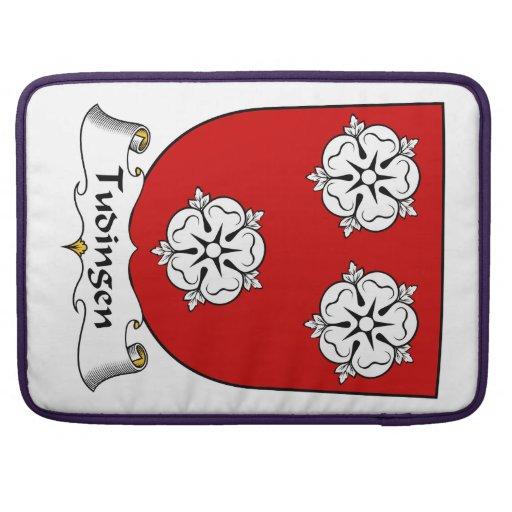 Escudo de la familia de Tudingen Fundas Para Macbook Pro