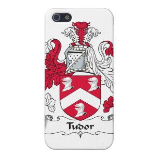 Escudo de la familia de Tudor iPhone 5 Carcasa