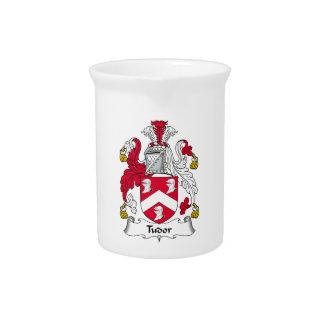 Escudo de la familia de Tudor Jarra De Beber