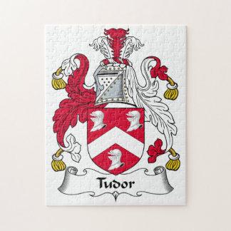 Escudo de la familia de Tudor Puzzles Con Fotos