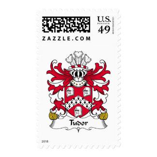 Escudo de la familia de Tudor Sello