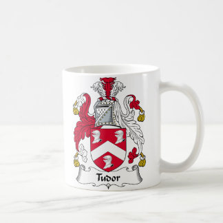 Escudo de la familia de Tudor Taza Clásica