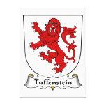 Escudo de la familia de Tuffenstein Impresiones En Lienzo Estiradas