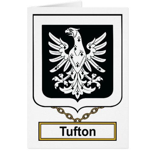 Escudo de la familia de Tufton Felicitación