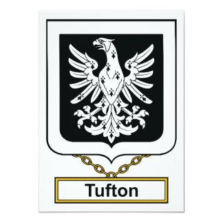 """Escudo de la familia de Tufton Invitación 4.5"""" X 6.25"""""""
