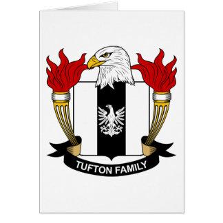 Escudo de la familia de Tufton Tarjeta De Felicitación