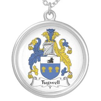 Escudo de la familia de Tugwell Colgante Redondo
