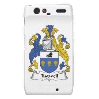 Escudo de la familia de Tugwell Motorola Droid RAZR Funda