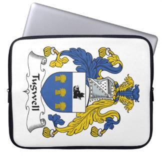 Escudo de la familia de Tugwell Fundas Ordendadores