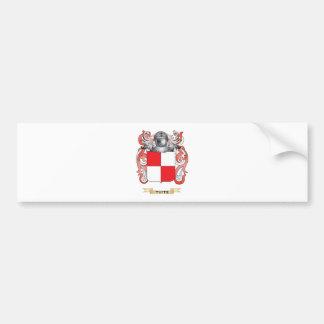 Escudo de la familia de Tuite (escudo de armas) Pegatina De Parachoque