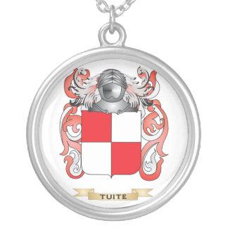 Escudo de la familia de Tuite (escudo de armas) Colgante Personalizado