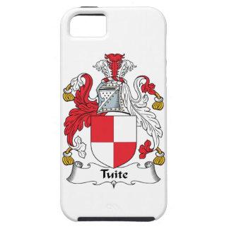 Escudo de la familia de Tuite iPhone 5 Case-Mate Carcasas