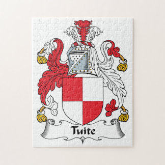 Escudo de la familia de Tuite Rompecabezas