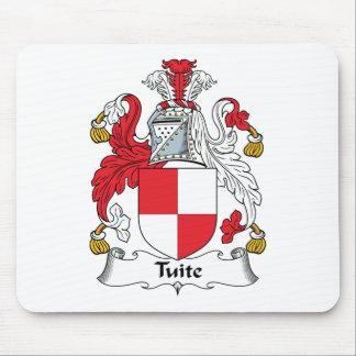 Escudo de la familia de Tuite Alfombrillas De Ratón