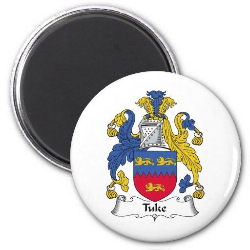 Escudo de la familia de Tuke Imanes