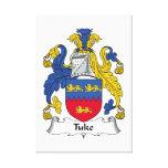 Escudo de la familia de Tuke Impresion En Lona