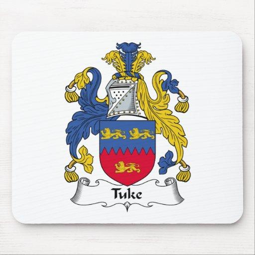 Escudo de la familia de Tuke Tapete De Ratón
