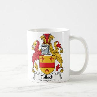 Escudo de la familia de Tulloch Taza