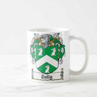 Escudo de la familia de Tully Taza De Café