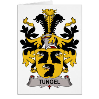 Escudo de la familia de Tungel Tarjeton