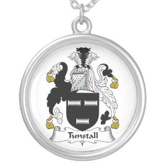 Escudo de la familia de Tunstall Colgante Redondo