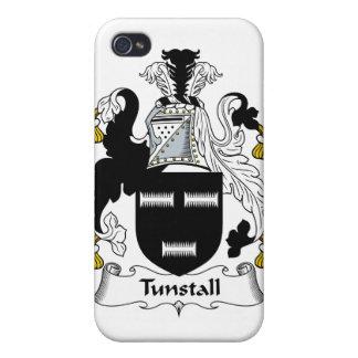 Escudo de la familia de Tunstall iPhone 4 Carcasas