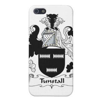 Escudo de la familia de Tunstall iPhone 5 Carcasa