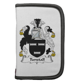 Escudo de la familia de Tunstall Planificadores