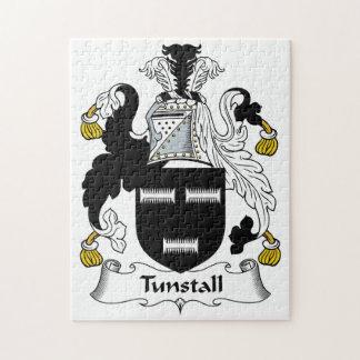 Escudo de la familia de Tunstall Rompecabeza Con Fotos