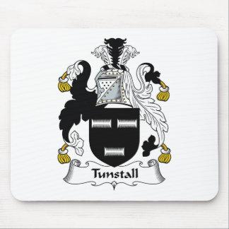 Escudo de la familia de Tunstall Tapetes De Raton