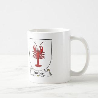 Escudo de la familia de Turber Taza Clásica