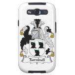 Escudo de la familia de Turnbull Galaxy S3 Protectores