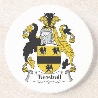 Escudo de la familia de Turnbull Posavasos Personalizados