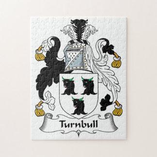 Escudo de la familia de Turnbull Rompecabeza