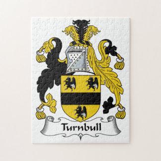 Escudo de la familia de Turnbull Puzzle Con Fotos