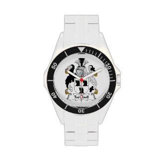 Escudo de la familia de Turnbull Reloj De Mano