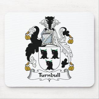 Escudo de la familia de Turnbull Tapetes De Ratones